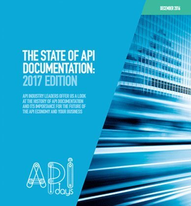 The State Of Api Documentation: 2017 Edition